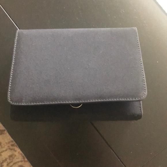 Stuart Weitzman Handbags - Stuart weitzman black clutch with shoulder strap